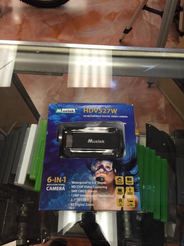 Mustek Waterproof Camcorder HDV527W