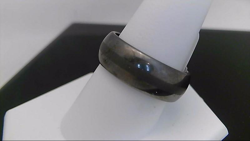 Gent's Ring Silver Tungsten 10.9g size10