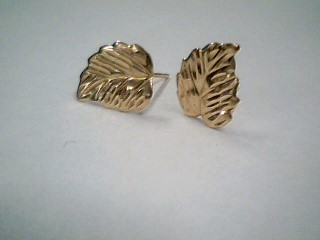 Gold Earrings 14K Yellow Gold 0.31g