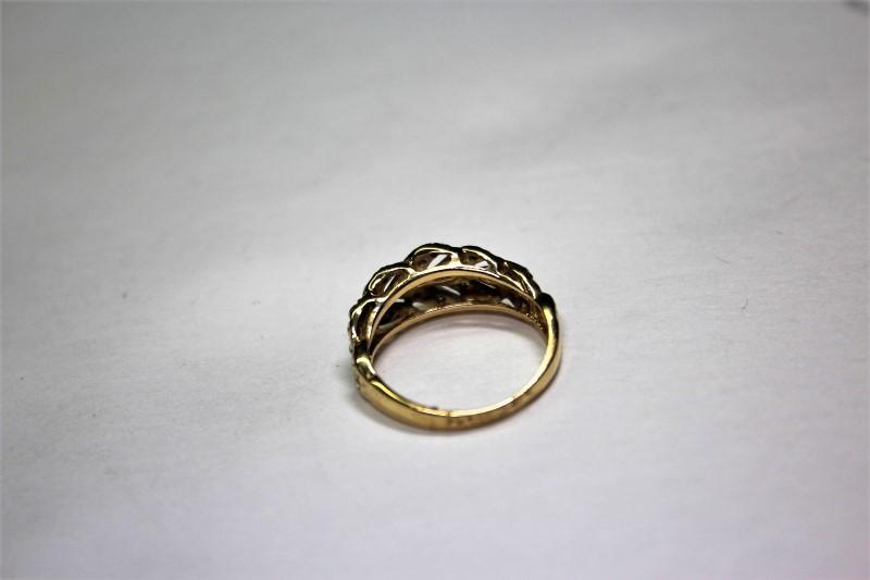 Lady's Diamond Fashion Ring 20 Diamonds .20 Carat T.W. 14K Yellow Gold 3.4g