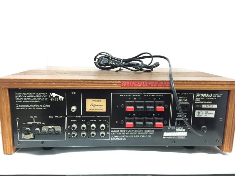YAMAHA Mini-Stereo CR-420
