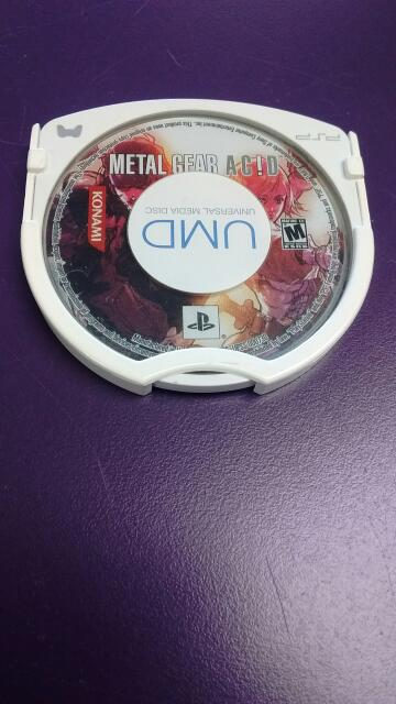 SONY PSP UMD GAME METAL GEAR ACID *DISC ONLY*