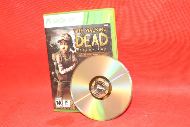 XBOX 360 WALKING DEAD SEASON 2