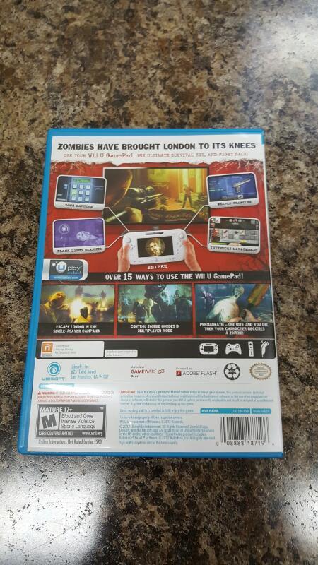 ZombiU (Nintendo Wii U, 2012) Zomi U, Zombie U