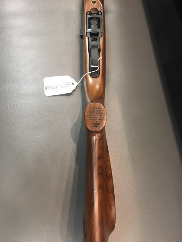 RUGER Rifle BOY SCOUTS OF AMERICA 10/22