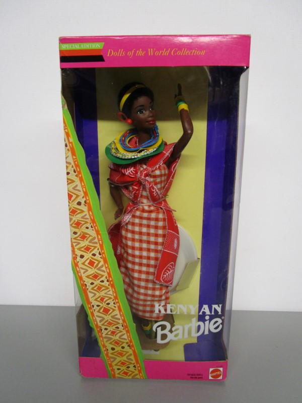 MATTEL Doll KENYAN BARBIE