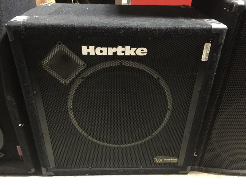 "HARTKE 15"" BASS SPEAKER CABINET VX115"