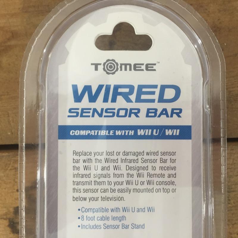 TOMEE Video Game Accessory M05546 WII/WIIU WIRED SENSOR BAR