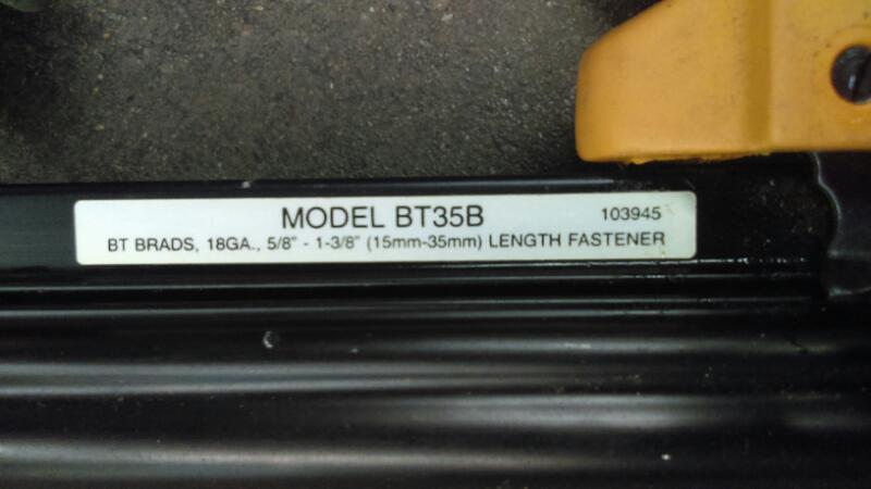 BOSTITCH Nailer/Stapler BT35B