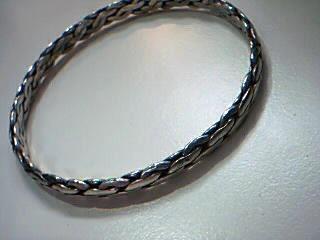 Silver Byzantine Bracelet 925 Silver 17g