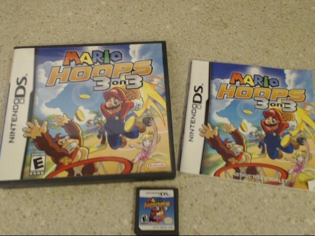 Mario Hoops 3 on 3 - Nintendo DS Game - Complete CIB
