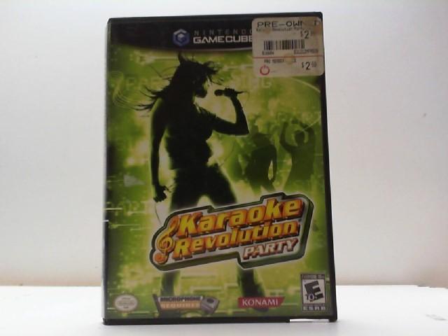 NINTENDO Nintendo Wii Game KARAOKE REVOLUTION