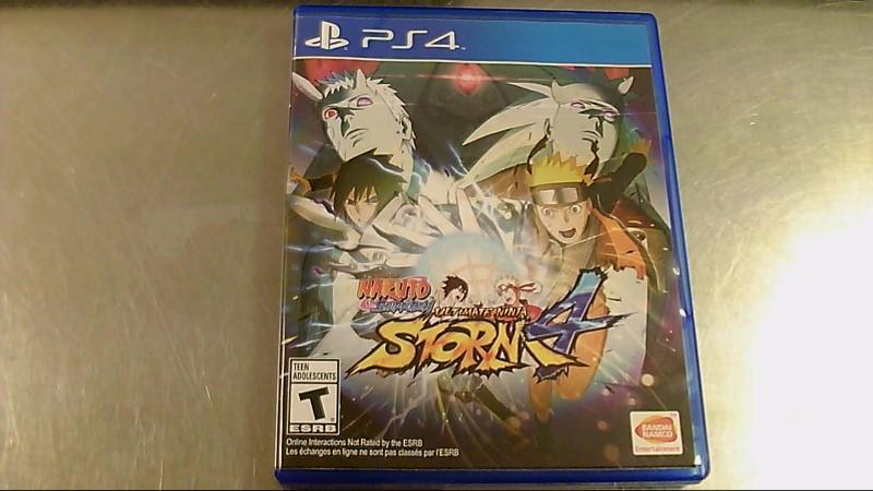SONY PS4 GAME NARUTO SHIUDEN ULTIMATE NINJA STORM 4