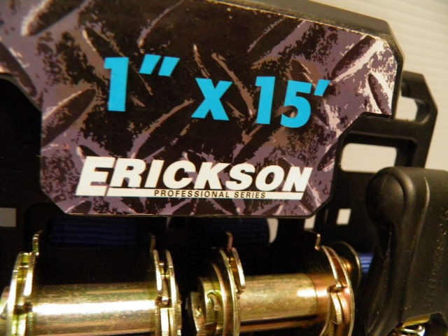 Erickson Ratchet Tie Down Straps