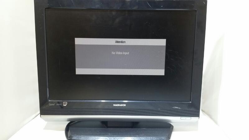 """Magnavox 19MF338B/27 1080P 19"""" LCD Television TV/Monitor"""