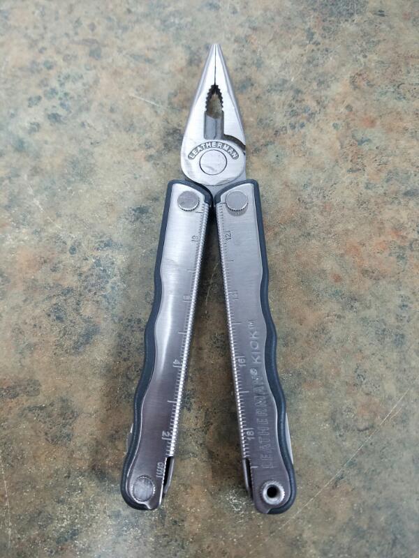 LEATHERMAN Pocket Knife KICK