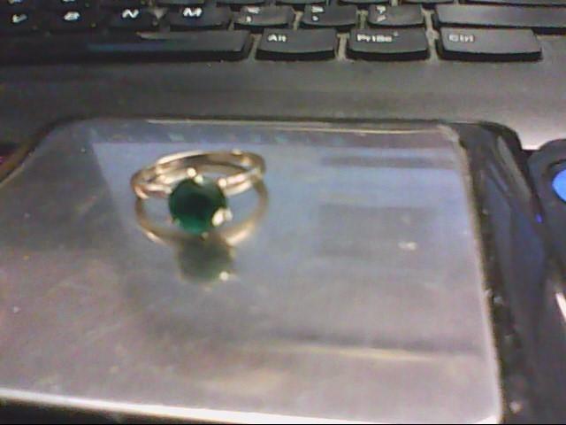 Lady's Gold Ring 10K White Gold 2.1g