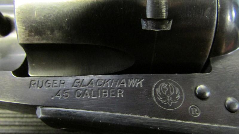 RUGER Revolver BLACKHAWK 3 SCREW