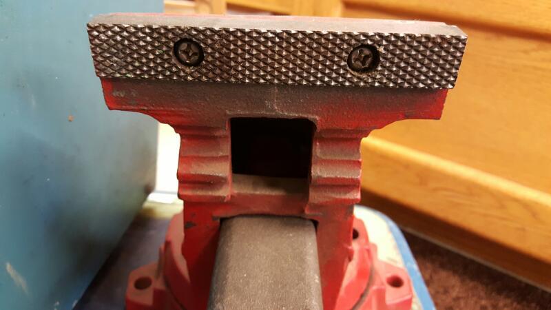 "WILTON 645 Clamp/Vise 5"", SWIVEL BASE, OPENS TO 7-3/4"" USA"