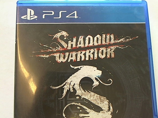 SONY PLAYSTATION 4 SHADOW WARRIOR