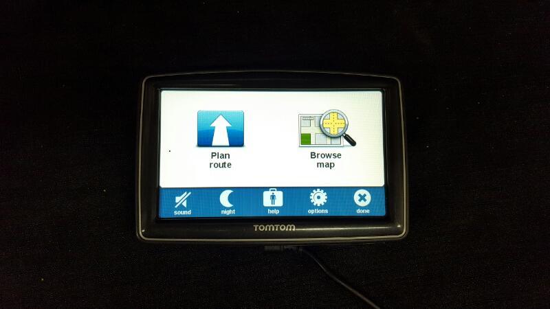 Tomtom XXL GPS System