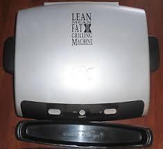 GEORGE FOREMAN Miscellaneous Appliances LEAN MEAN GRILLIN MACHINE