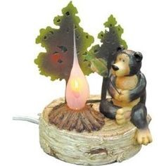 MISC NEW MISC NEW MISC ARTON GIFTS GA-979; CAMPFIRE LIGHT: BEAR
