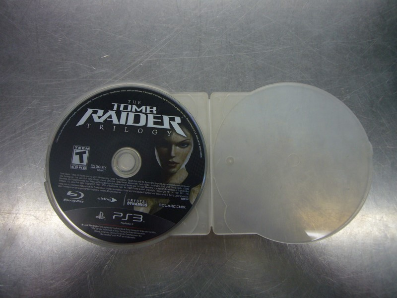 SONY Sony PlayStation 3 Game THE TOMB RAIDER TRILOGY
