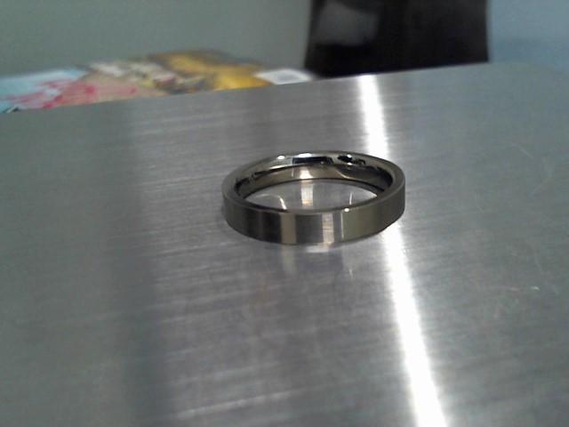 Gent's Ring Silver Titanium 2.2g