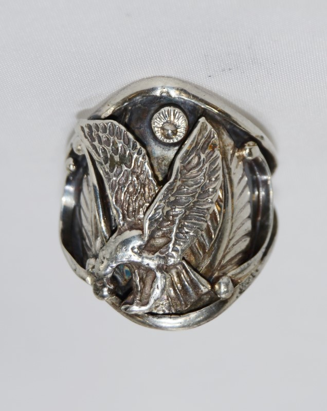 Gent's Silver Ring 925 Silver 14.5g