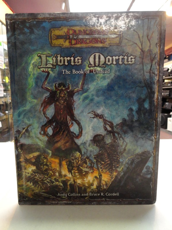 Dungeons & Dragons - Libris Morris The Book of Undead