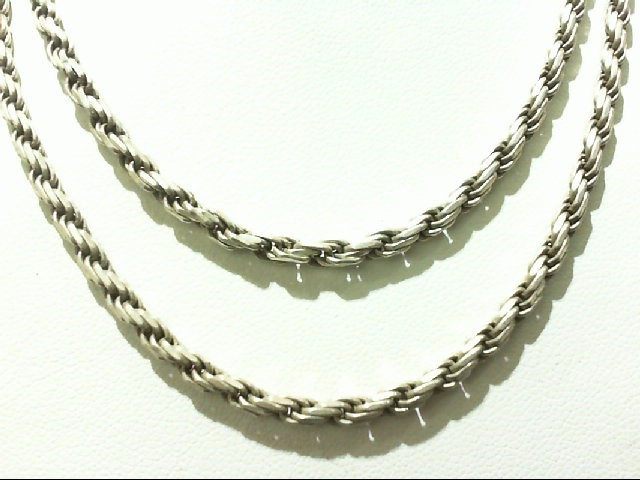 Silver Rope Chain 925 Silver 19.9g