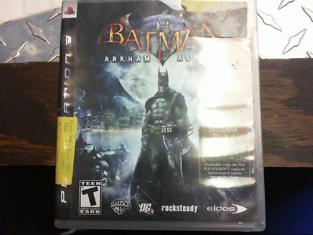 SONY PS3 GAME - BATMAN ARKHAM ASYLUM