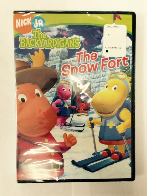 DVD MOVIE THE BACKYARDIGANS: THE SNOW FORT