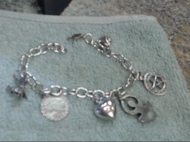 Silver Fashion Bracelet 925 Silver 18.05dwt