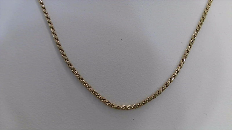 "24"" Gold Rope Chain 14K Yellow Gold 4.9g"