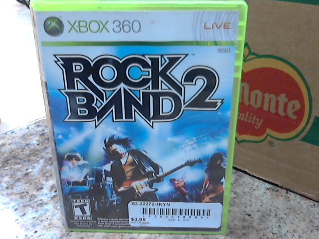 MICROSOFT Microsoft XBOX 360 Game ROCK BAND 2