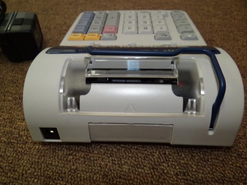 SHARP EL-1801C 2 COLOR PRINTING CALCULATOR