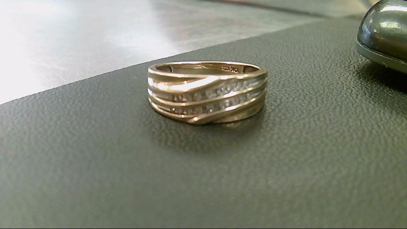 Gent's Gold Wedding Band 10K Yellow Gold 4.3g