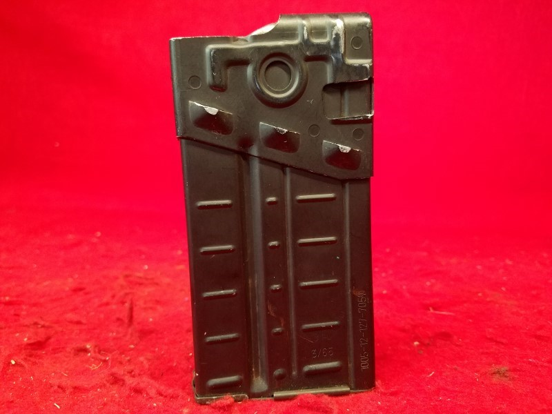 HK G3 PTR-91 Magazine, 20 Rounds, Original Military Aluminum Body