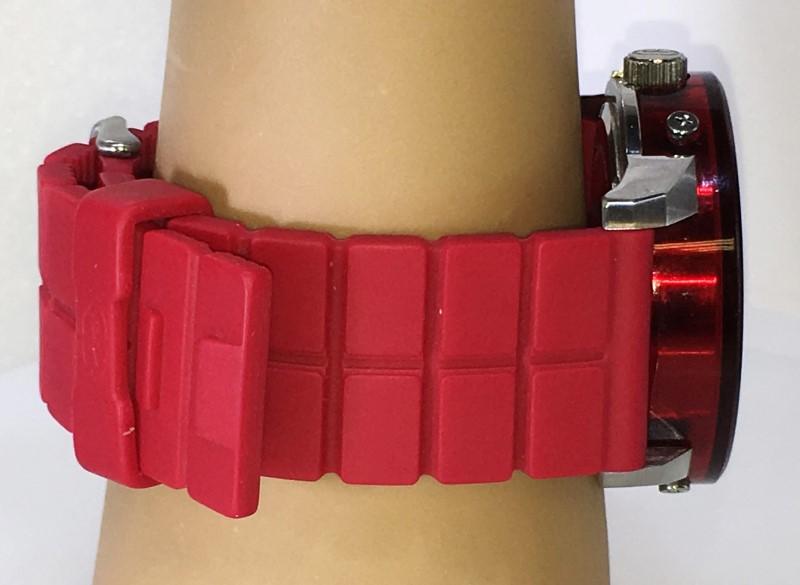 UNLTD by Marc Ecko The Fuse Red Plastic Watch E11539G1