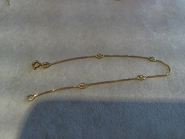 Gold Fashion Bracelet 18K Yellow Gold 1.6g