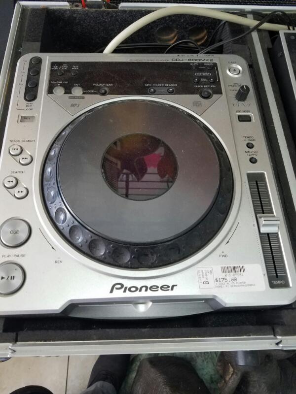 CDJ800MK2 DIGITAL CD PLAYER-HOME PIONEER   SILVER