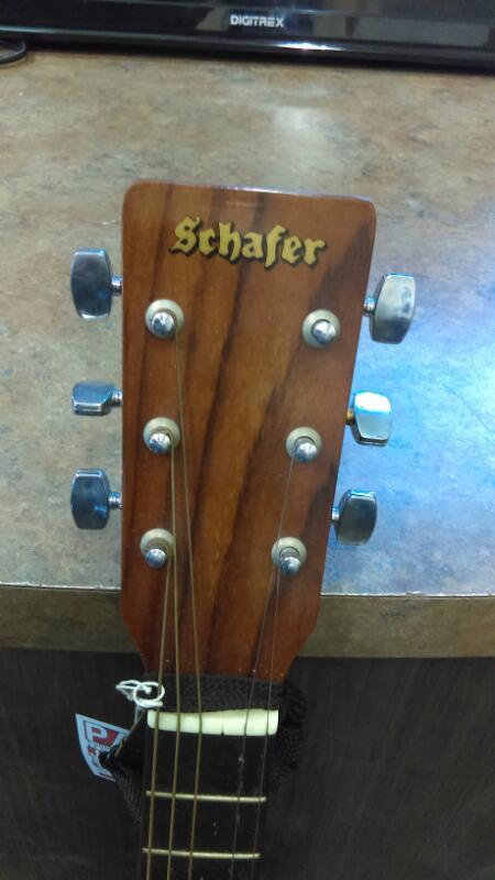 SCHAFER #SF414 ACOUSTIC GUITAR