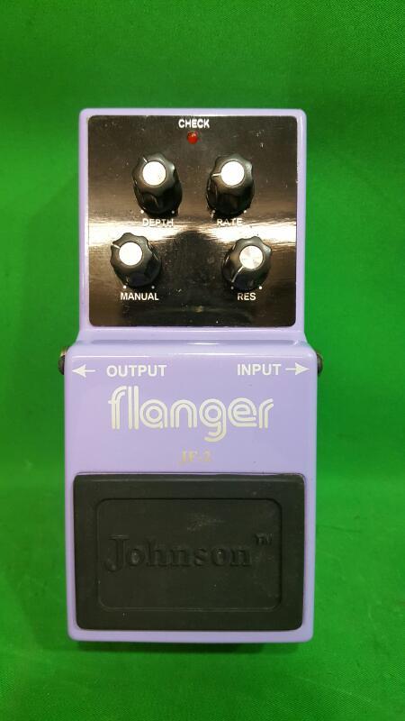 JOHNSON JF-2 Flanger Guitar Effects Pedal