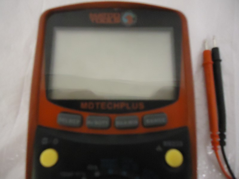 MATCO TOOLS Multimeter RS232