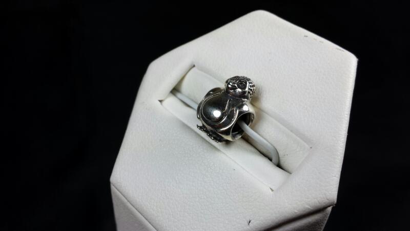 Pandora Pelican Charm 925 Silver 3.4g