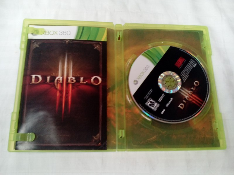 MICROSOFT XBOX 360 GAME DIABLO III