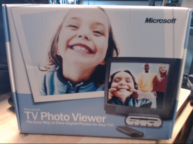 MICROSOFT Computer Accessories TV PHOTO VIEWER