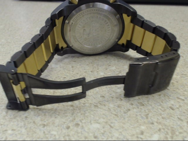 Invicta Men's 13016 Arsenal Black and Gold Two Tone Stainless Watch
